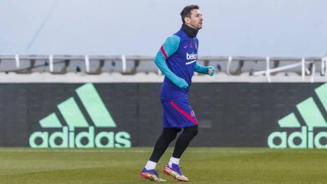 Paso adelante de Messi