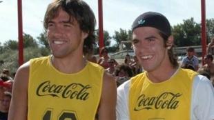 Federico Insúa y Fernando Gago.