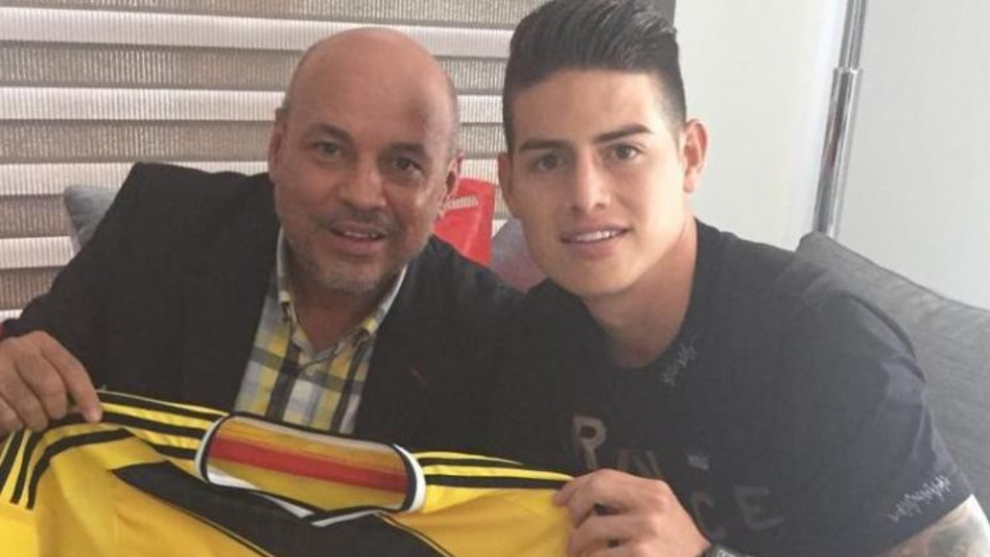 James Rodriguez's stepfather: I've been sent death threats to my house