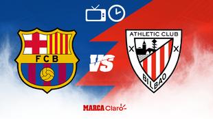 Barcelona y Athletic Bilbao se enfrentan por la Supercopa de España