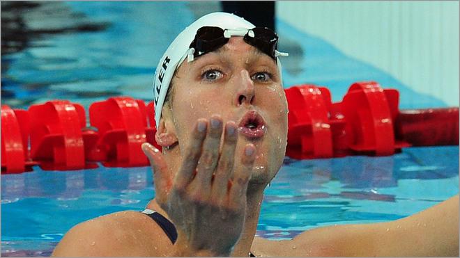 Klete Keller at the 2008 Olympics