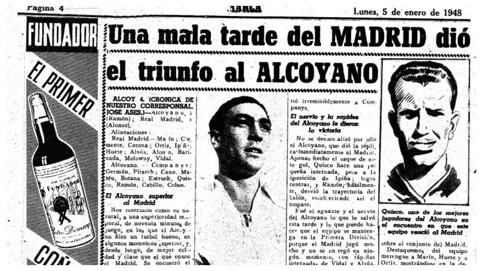 When Alcoyano was better than Real Madrid