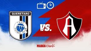 Querétaro vs Atlas: Horario y dónde ver en vivo.