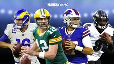 Packers vs Rams y Bill vs Ravens, en vivo la ronda divisional de la NFL