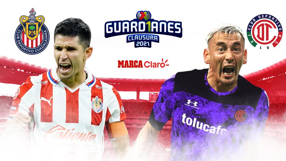Chivas vs Toluca hoy en vivo y en directo online: Partido del...