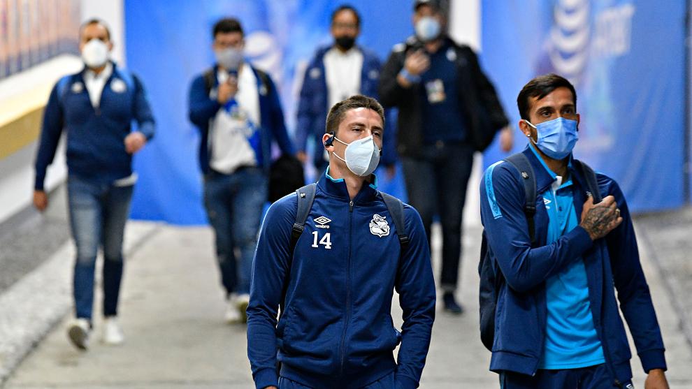 Los jugadores del Cruz Azul recibieron críticas de sus aficionados. |