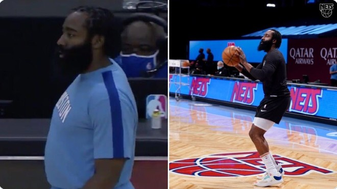 Harden's radical change: Was he fat or just putting it on?