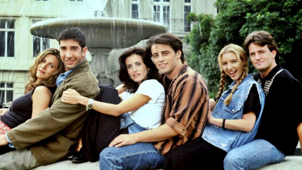 Friends reunion is underway: We've started filming some parts