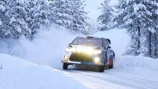 Sexta posición en su tercer rally para el piloto finlandés de...