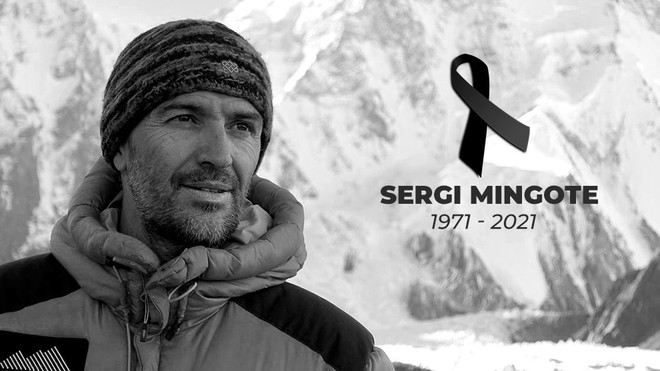 Sergi Mingote muere tras sufrir una caída en el K2.