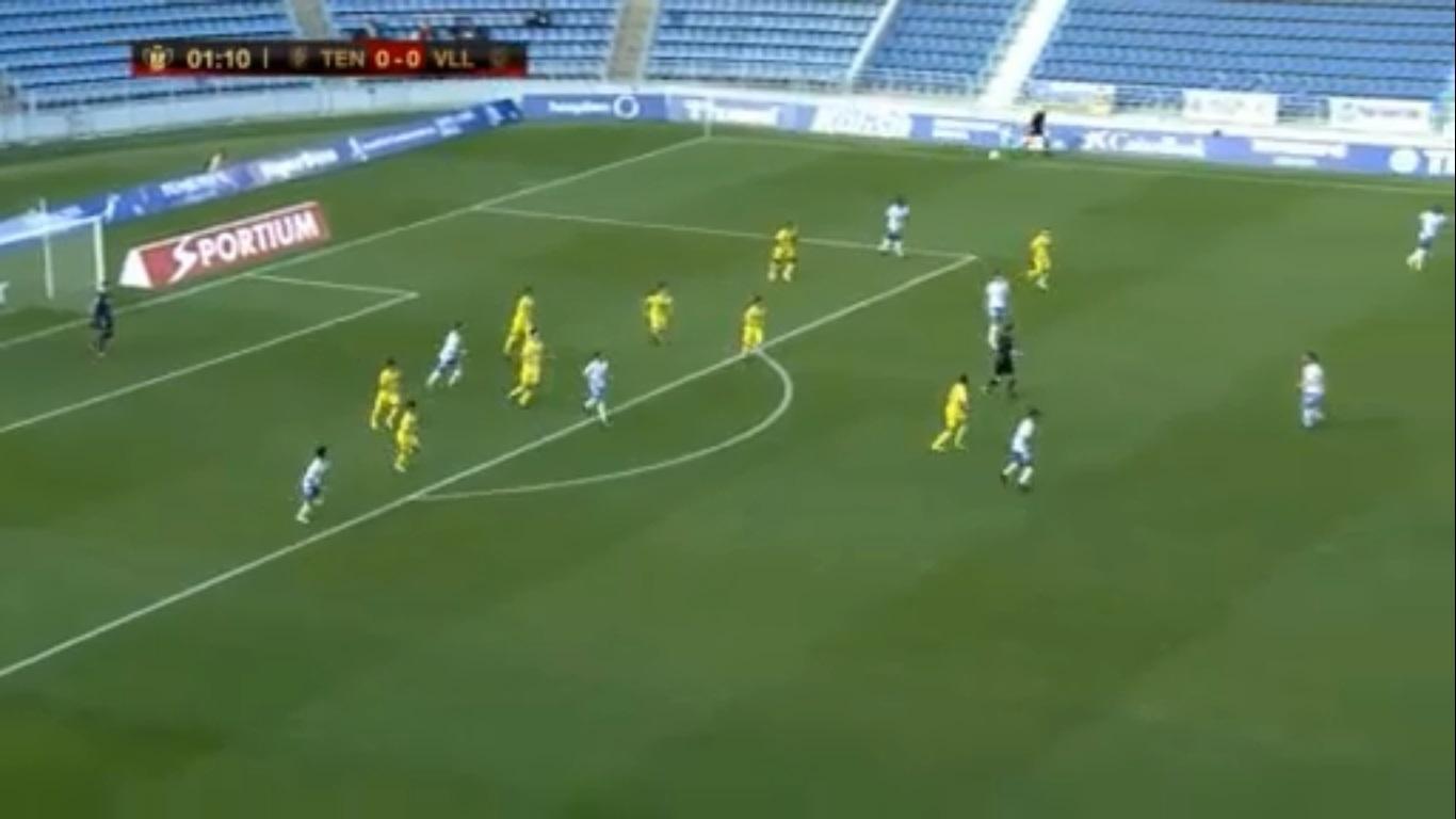 El Villarreal no crea peligro