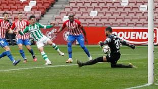 El gol de Rodri en El Molinón