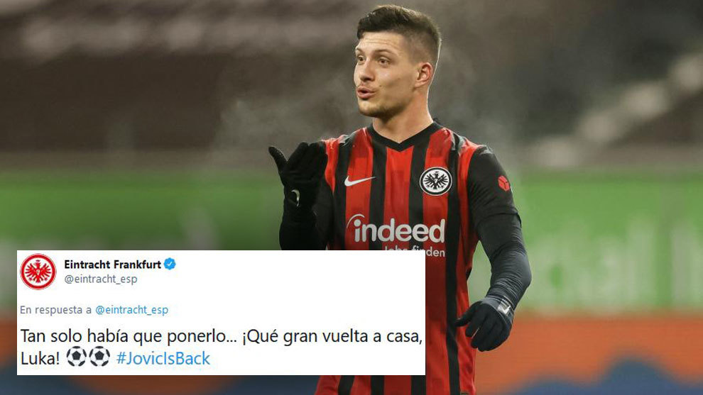 Eintracht Frankfurt aim jibe at Real Madrid after Jovic's double: You just had to play him...