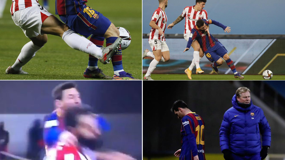 Messi Roja expulsion