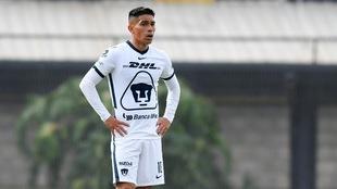 Favio Álvarez ya juega con Pumas.