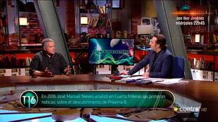 Cuarto milenio - Iker Jimenez - Jose Manuel Nieves - Cuatro