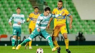 Santos vs Tigres, en vivo