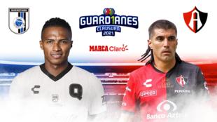 Querétaro vs Atlas, en vivo.