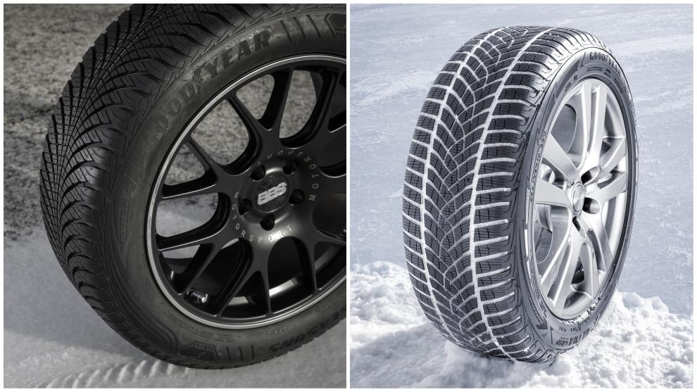 Goodyear Vector 4 Season (todo tiempo) y Goodyear Ultra Grip Performance (de invierno).