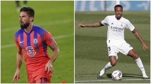 Giroud y Militao, ambos en la actualidad del mercado por diferentes...
