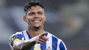 Evanilson celebrando un gol con el Oporto