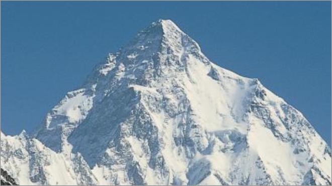 Una imagen de la cima del K2.