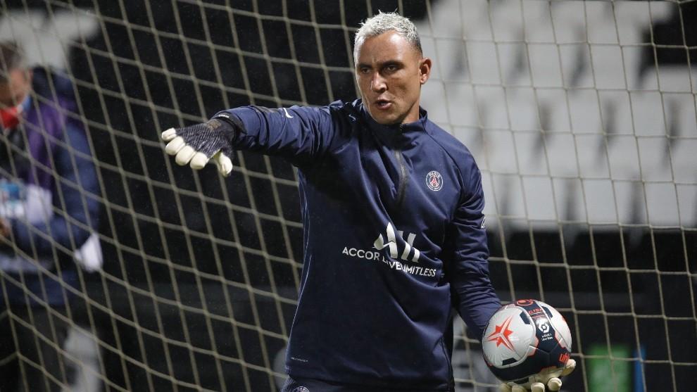Keylor Navas is Europe's second most decisive goalkeeper