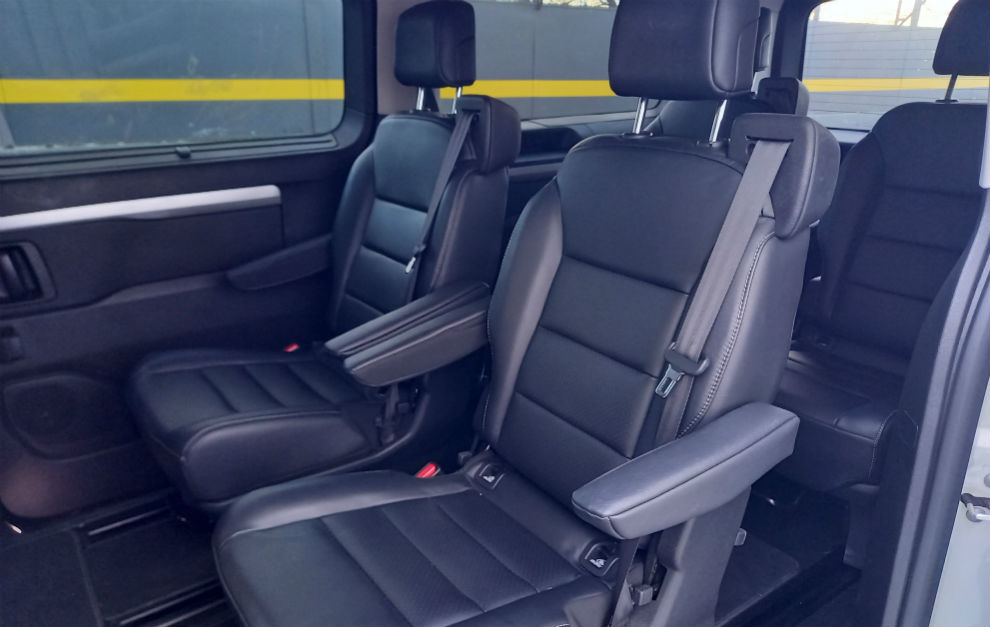 El Opel Zafira Life se ofrece en tres tamaños (S, M y L) con hasta 9 asientos.