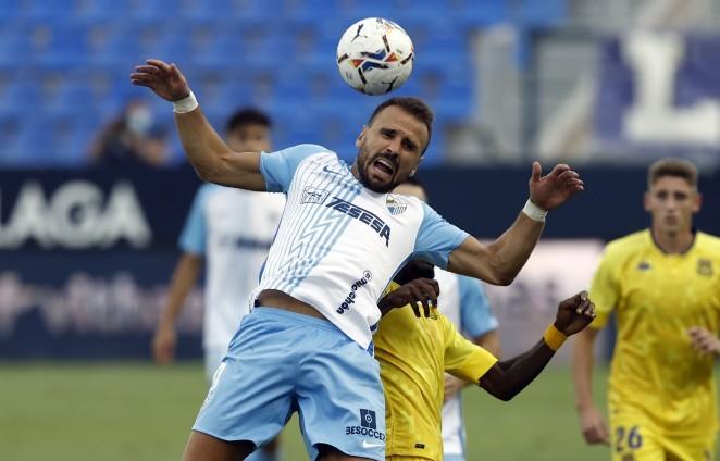Orlando Sá, durante el partido ante el Alcorcón