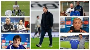Algunos de los entrenadores del Chelsea en la 'era...