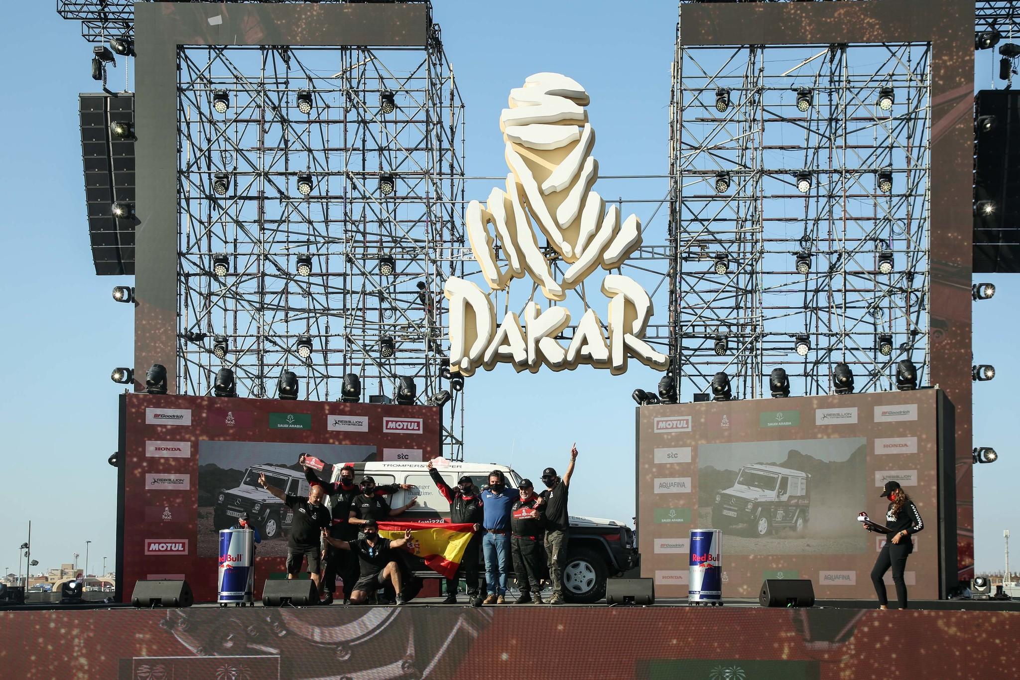 El Mercedes Clase G finaliza en una excelente décima posición el primer Dakar Classic de la historia