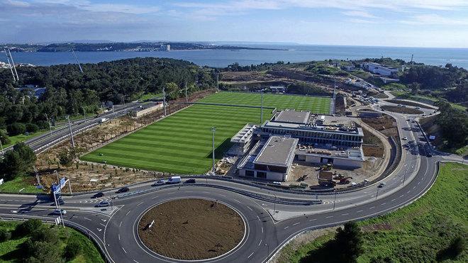 Instalaciones de la Ciudad de Fútbol de Portugal.