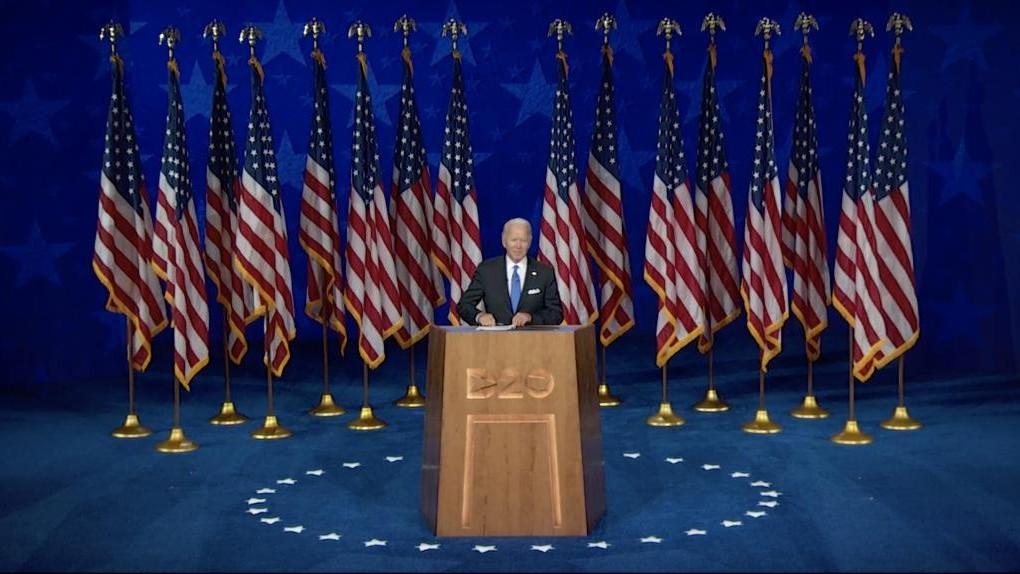 Joe Biden: Presidential speech and first policies