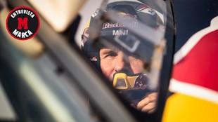 Peterhansel, durante la presente edición del Dakar.