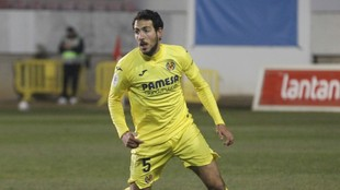 Dani Parejo, en un partido de este año con el Villarreal.