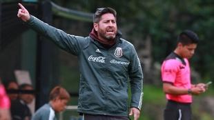 Christopher Cuéllar dejó de ser el técnico de la Selección...