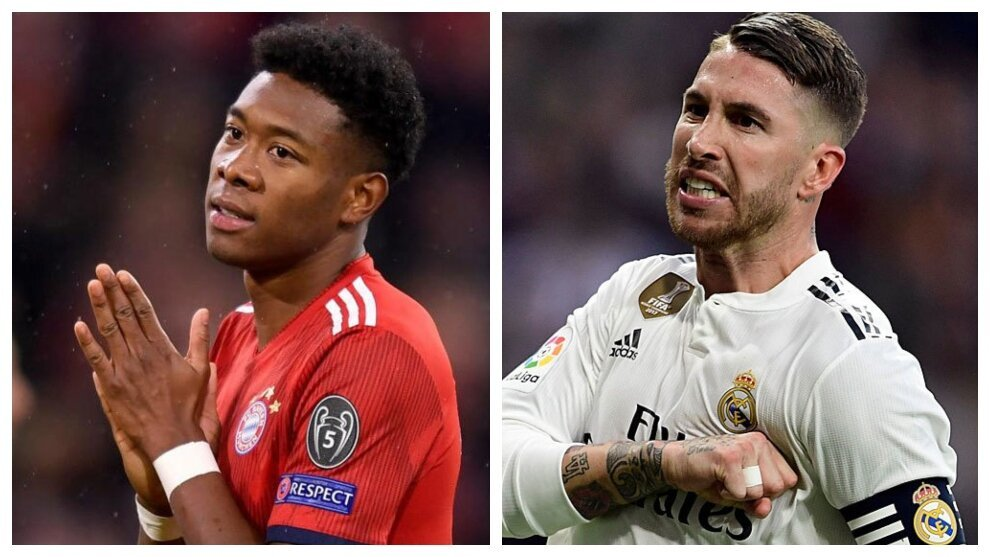 Is Alaba to take down Sergio Ramos?