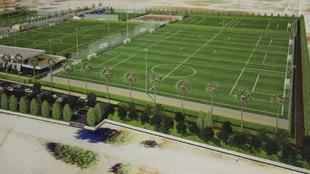 Las instalaciones del Málaga