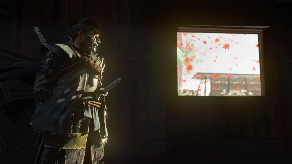 Casi cada frame de Ghost of Tsushima puede terminar como fondo de pantalla.