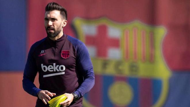 Eder Sarabia confirms Barcelona dressing room argument