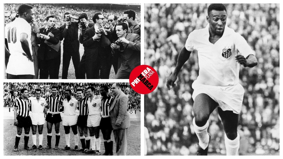 Pele on tour: The year he played 103 matches