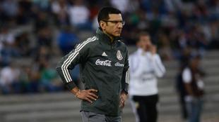 Jaime Lozano, director técnico de la selección mexicana sub 23.