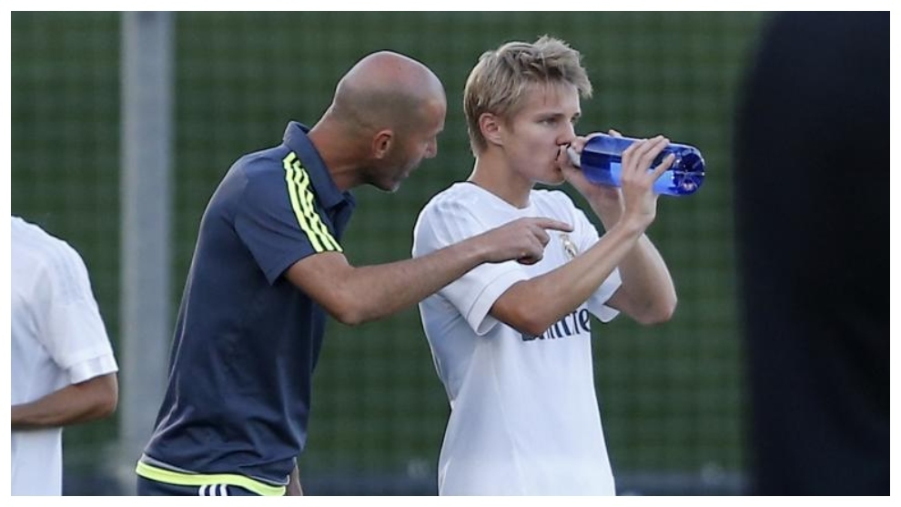 Odegaard, you have come to Real Madrid in tears