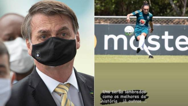 Bolsonaro in new controversy: How can you pay Marta the same as Neymar?