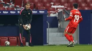 Julen Lopetegui, en el partido de Copa ante el Leganés.