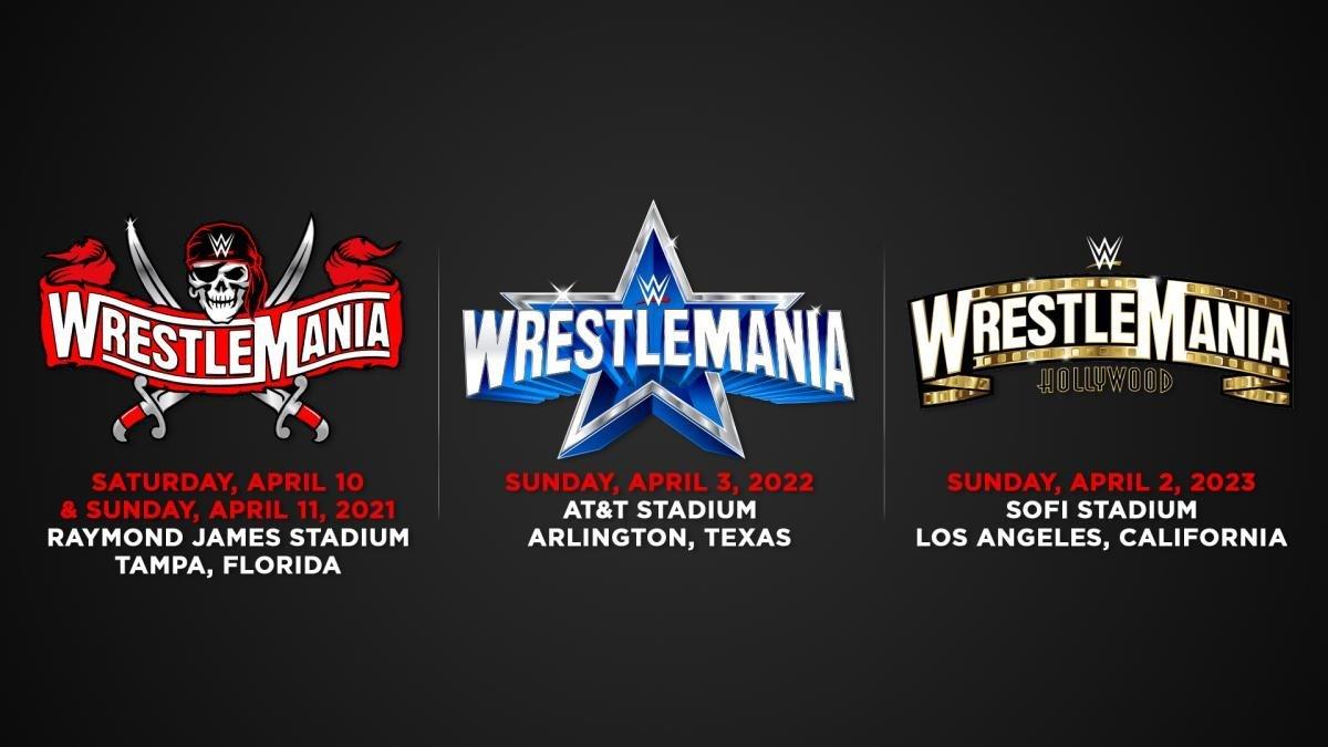 WWE confirma las ciudades y las fechas de las tres próximas Wrestlemania