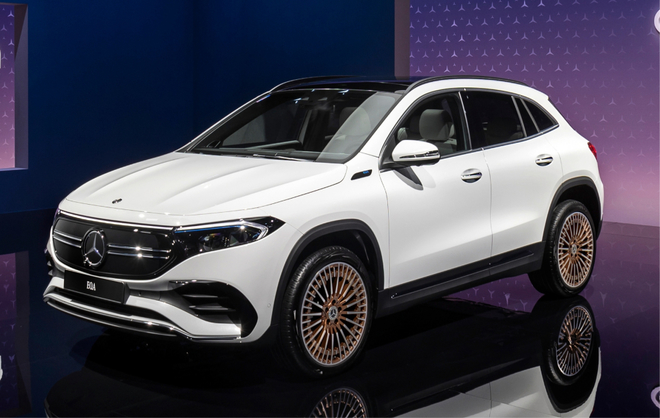 El Mercedes-Benz EQA, el modelo de acceso a la gama eléctrica de...