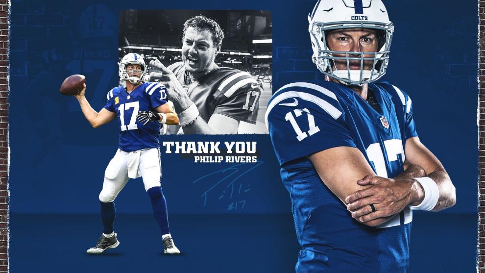Philip Rivers dice adiós a la NFL