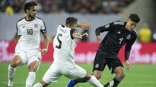 La selección mexicana enfrenta a Costa Rica