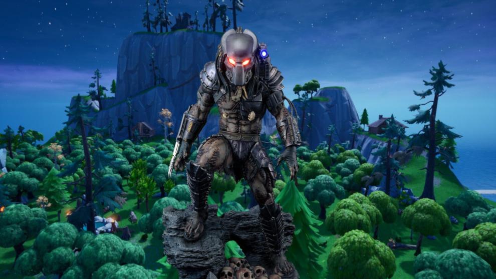 Predator ya está en Fortnite